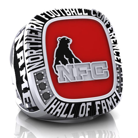 NFC Hall of Fame Oakville Longhorns Ring (Enamel)