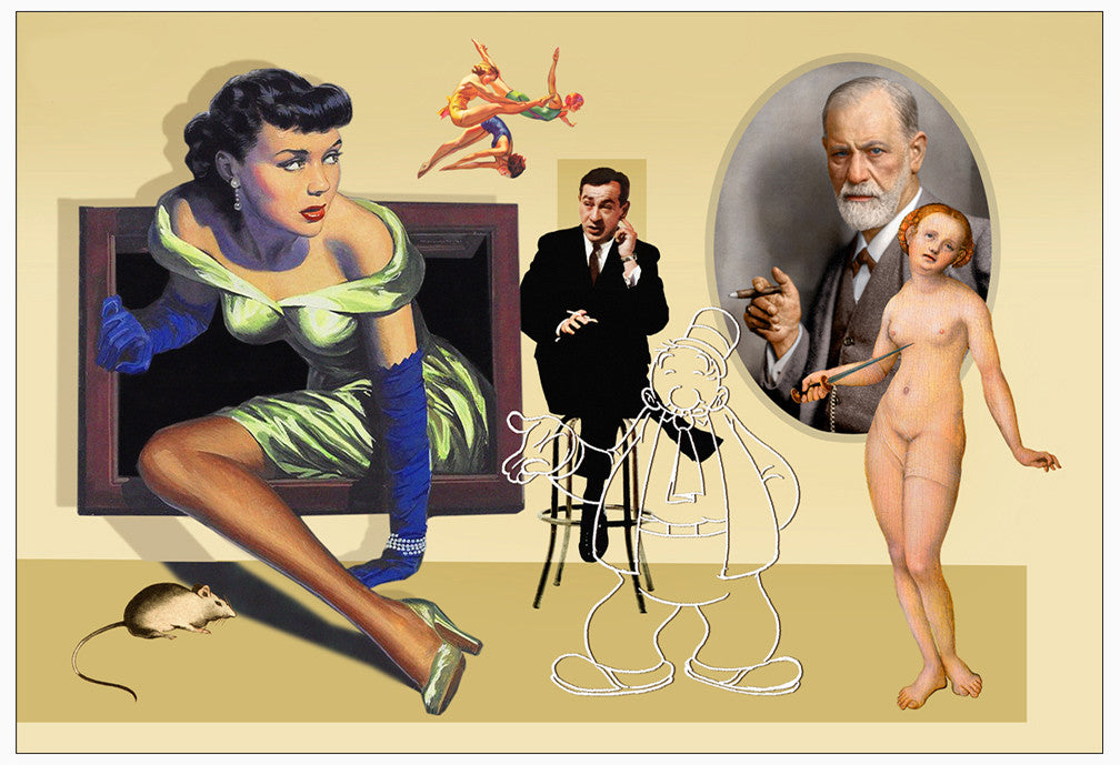 Collage: Freud's Dream