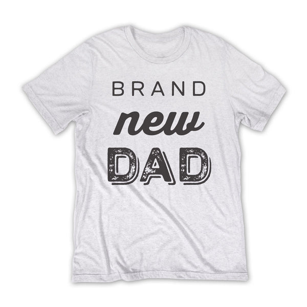 Brand New Dad T-shirt / White