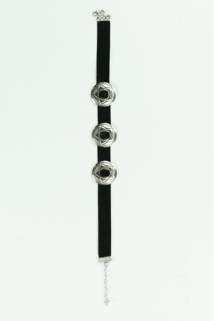 Chonco Velvet Choker,Accessories