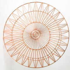 Bend Copper Drum Table Top
