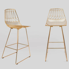 Bend Lucy Barstools Gold