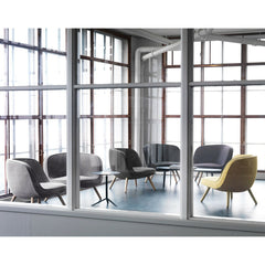 Via 57 Chairs in Room by Bjarke Ingels and KiBiSi for Fritz Hansen