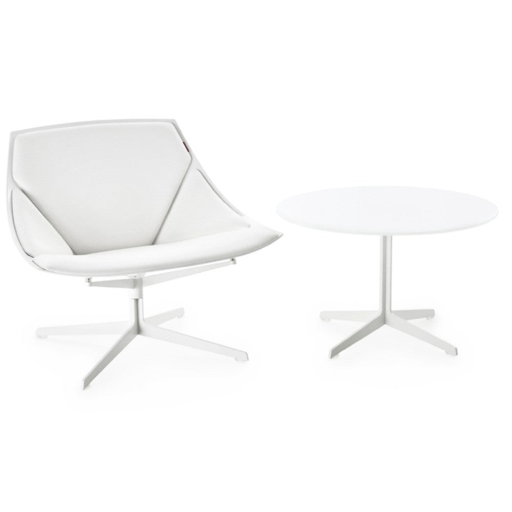 Jehs and Laub Space Chair and Table White Fritz Hansen