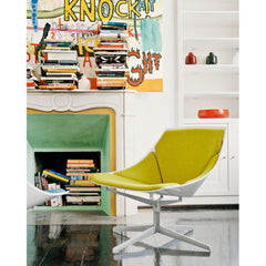 Jehs and Laub Space Chair Yellow in Room Fritz Hansen
