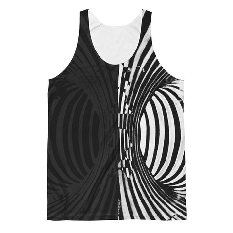 """Multistability"" Men's Tank by Parker Hi"