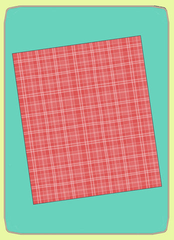 "Rectangles 8½"" x 10"" cut, 8"" x 9½"" finished, - 6765 - Mat (2015) included."