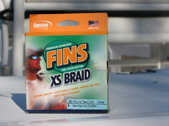 FINS XS Extra Smooth Braided Superline