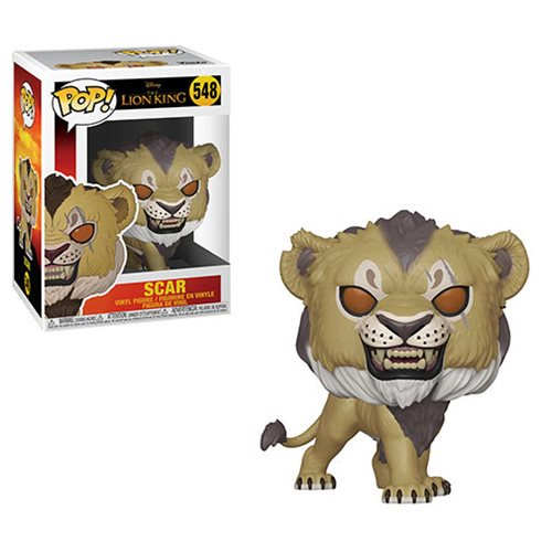 Lion King Live Action Scar Pop! Vinyl Figure #548