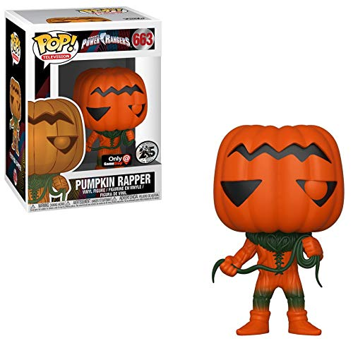 Power Rangers Pumpkin Rapper GameStop Exclusive Pop! Vinyl Figure #663