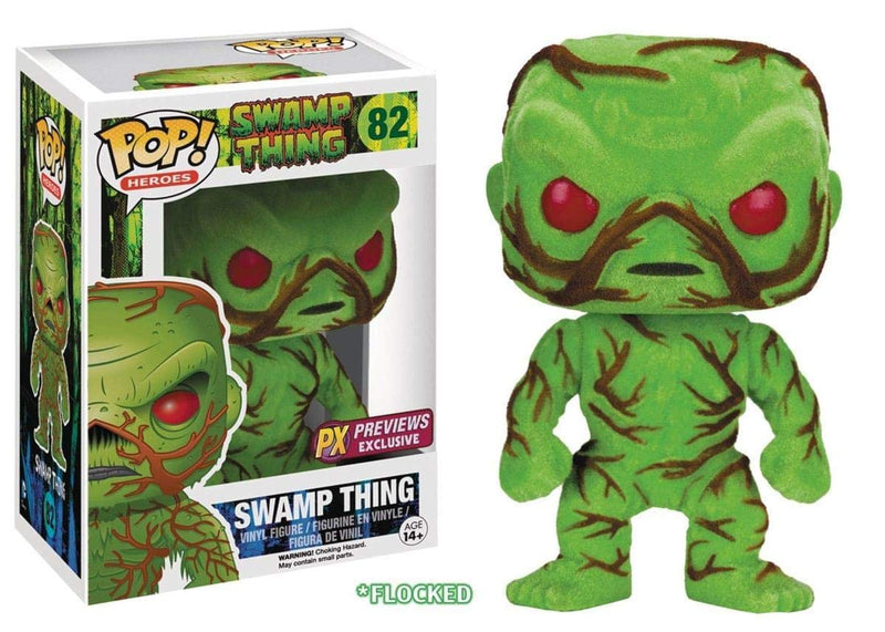 SDCC 2016 Exclusive Swamp Thing Flocked and Scented POP! Vinyl Figure #82