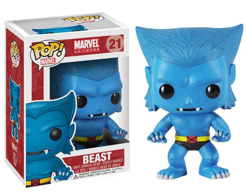 Pop! Marvel X-Men Beast Vinyl Bobble Head Figure #21