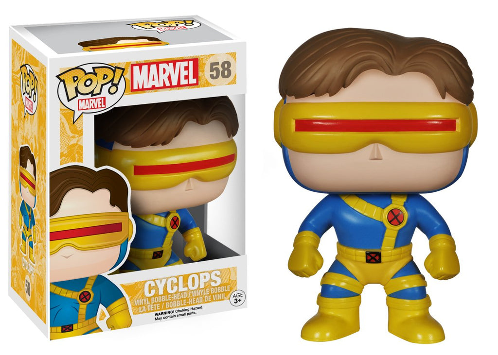 Funko POP Marvel: Classic X-Men - Cyclops Action Figure