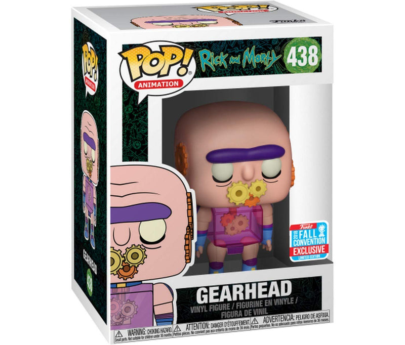 Rick and Morty Gearhead PO! Vinyl Figure #438