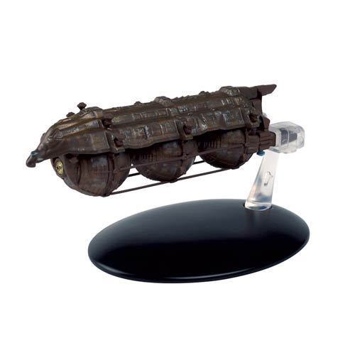 Star Trek Starships Malon Freighter Die-Cast Vehicle with Collector Magazine #45