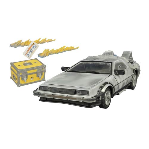 Back to the Future Iced Time Machine Collector Set Vehicle