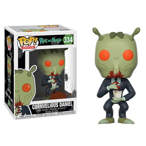 Preorder  Rick and Morty Cornvelious Daniel with Mulan Sauce Pop! Vinyl Figure #334