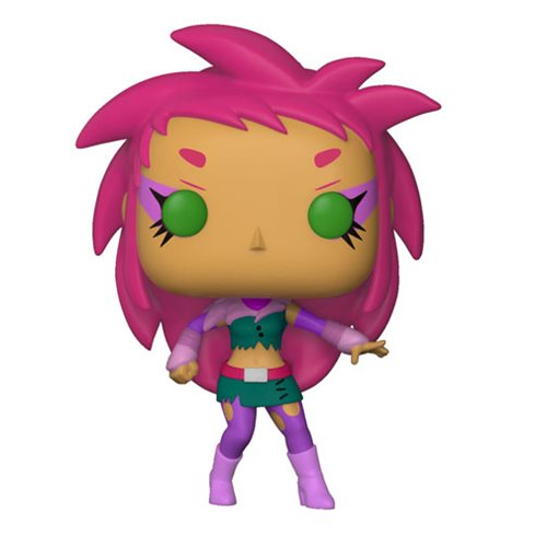 Preorder  Teen Titans GO! The Night Begins to Shine Starfire Pop! Vinyl Figure #607