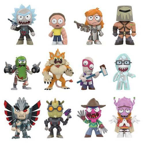 Preorder  Rick and Morty Series 2 Mystery Minis Display Case