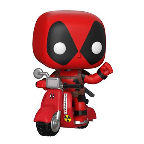 Preorder  Deadpool and Scooter Pop! Vinyl Vehicle
