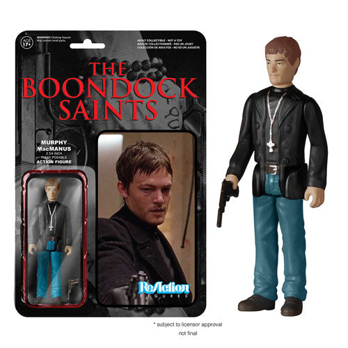 Boondock Saints Murphy MacManus ReAction 3 3/4-Inch Retro Action Figure