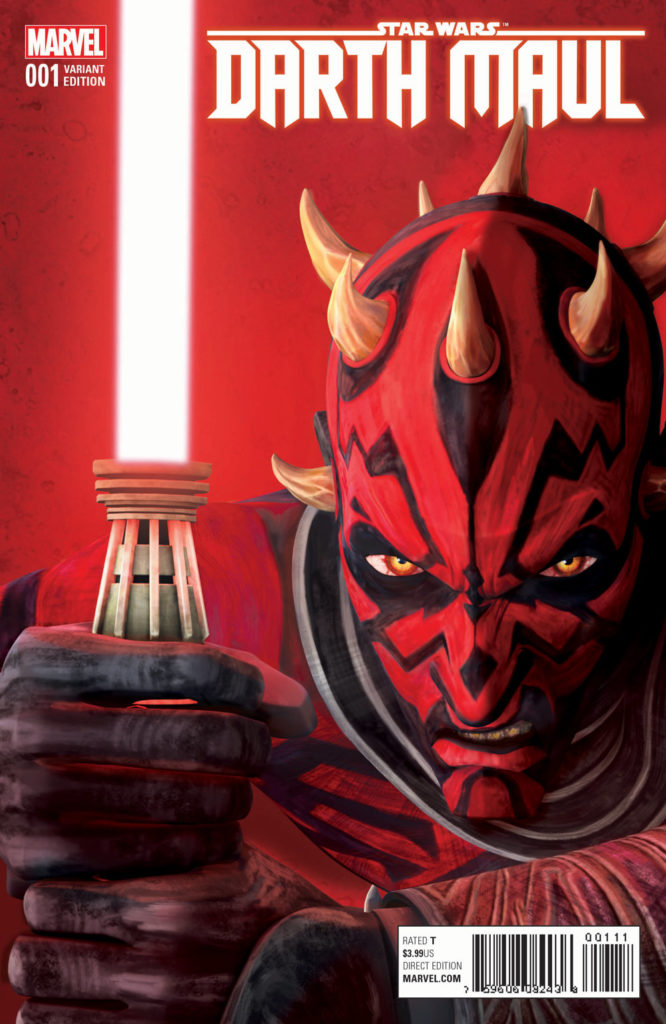 Darth Maul #1 (of 5) Animation Variant Comic Book