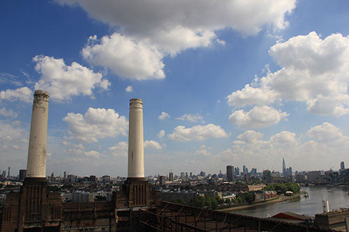 Battersea Power Station - Original Chimneys