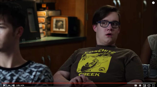 Ames Bros Upschitz Creek T-Shirt spotted in Fist Fight The Movie