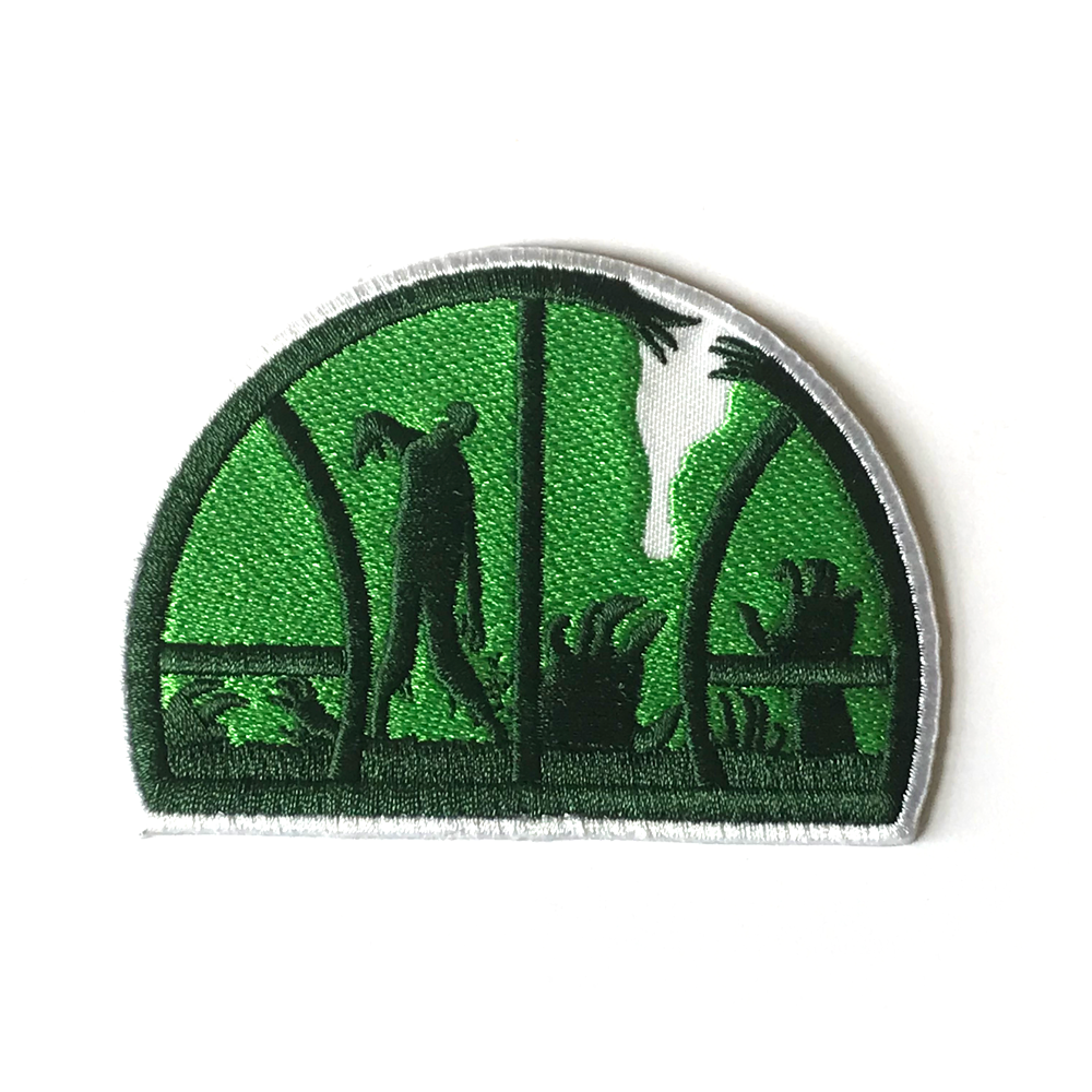 Zombie Sonics Embroidered Patch