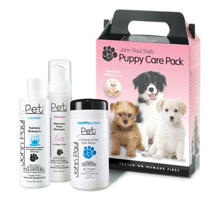 John Paul Pet Products Puppy Care 3-Pack