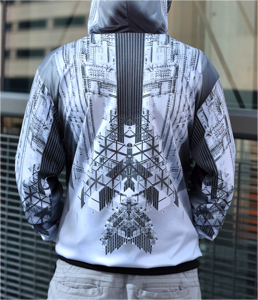 Tek Reversible Satin Jacket by Beeple - BACKSTOCK AVAILABLE
