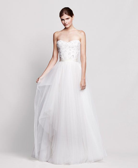 Reem Acra 'Coral Bells' - Reem Acra - Nearly Newlywed Bridal Boutique - 1