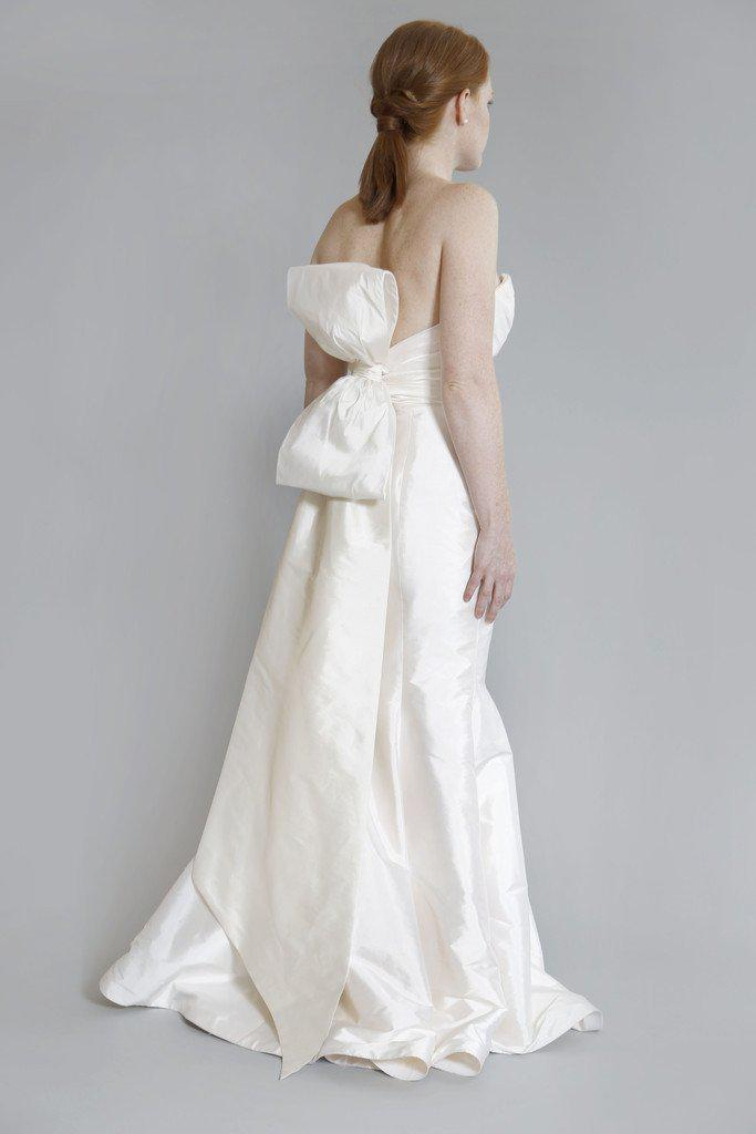 Tara Keely 'TK2060' Silk Strapless Dress - Tara Keely - Nearly Newlywed Bridal Boutique - 3