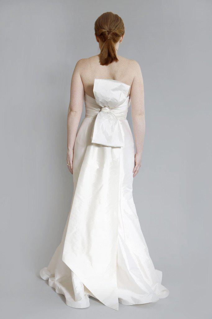 Tara Keely 'TK2060' Silk Strapless Dress - Tara Keely - Nearly Newlywed Bridal Boutique - 2