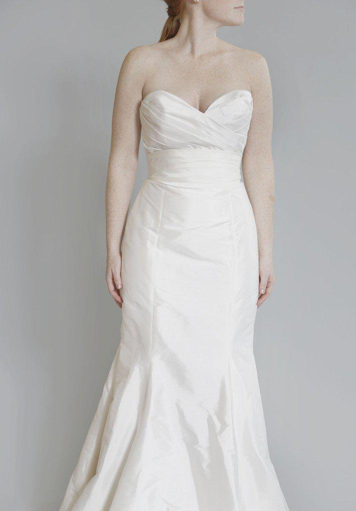 Tara Keely 'TK2060' Silk Strapless Dress - Tara Keely - Nearly Newlywed Bridal Boutique - 4