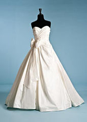 Priscilla of Boston 'Maeve' Strapless Ball Gown - Priscilla of Boston - Nearly Newlywed Bridal Boutique - 2