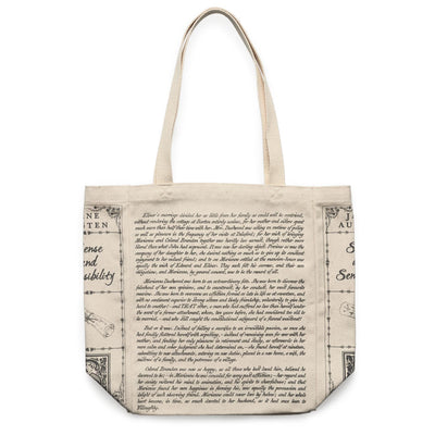 Sense and Sensibility Book Tote