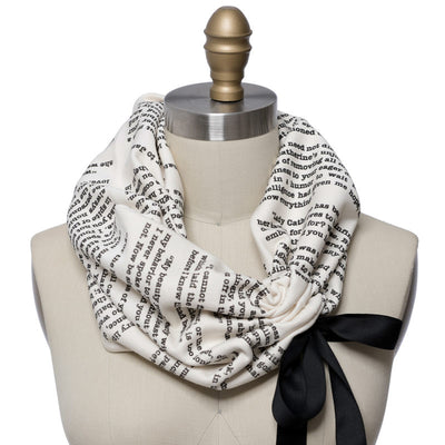 Pride and Prejudice Light Weight Summer Book Scarf - Storiarts - 1