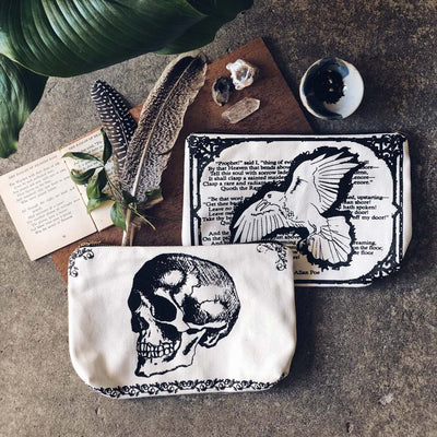 The Raven Book Pouch