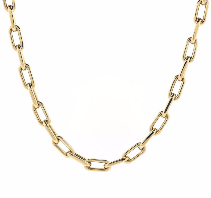 Large Link Gold Convertible Necklace