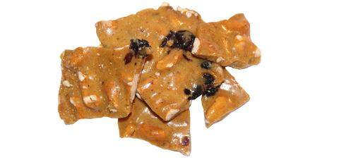 Blueberry Cashew Brittle
