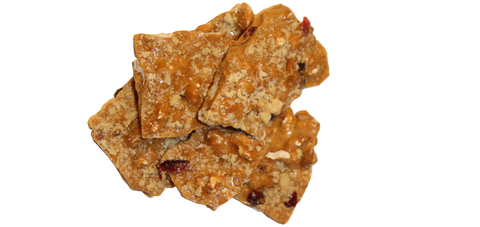 Cranberry Cinnamon Walnut Brittle