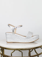Berties Silver Unisa Wedges