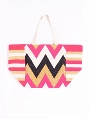 Berties Vilagallo Salma Patterned Bag In Pink