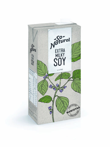 12 x Freedom Foods Extra Milky Soy (Gluten Free, Nut & Lactose Free) Soy Milk Freedom Foods