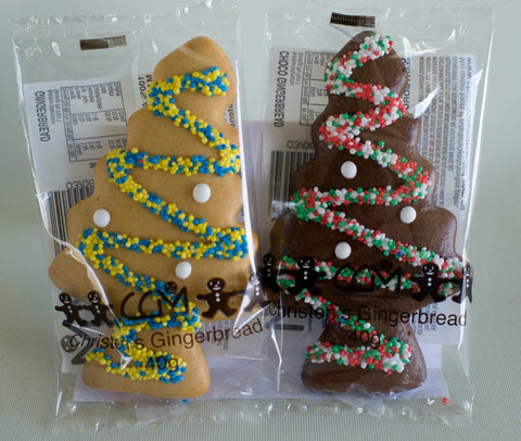 24 x Christen's Gingerbread Trees Mixed Gingerbread Christens Gingerbread