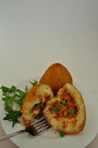 24 x Chefs Edge Large Arancini - Bolognaise with Peas & Mozzarella Frozen Savouries Chefs Edge