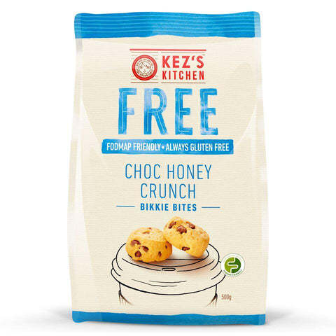 6 x Kez's Bites - Gluten Free Choc Chip Honey Crunch Bites Conference Range Kezs