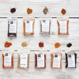 9 African & Middle Eastern Spice Collection - Spice Kitchen - Spices, Spice Blends, Gifts & Cookware