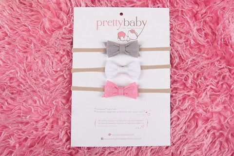 Grace Baby Headband Set